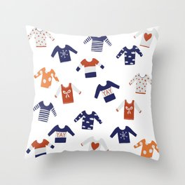Sweater Weather Throw Pillow