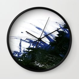 Incomplete battle Wall Clock