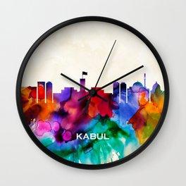 Kabul Skyline Wall Clock