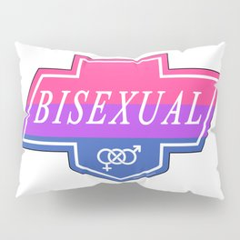 Identity Stamp: Bisexual Pillow Sham