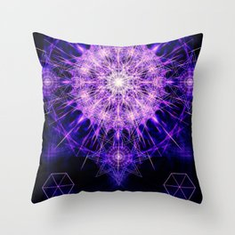"""Ordo ab Chao de Amethystus"" Throw Pillow"