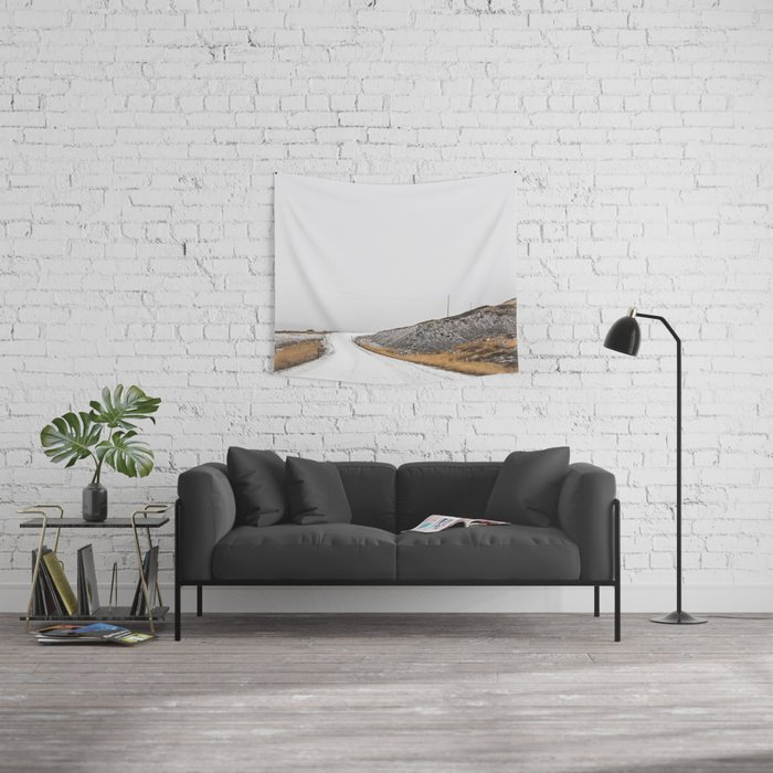 Roads Were Made For Journeys III Wall Tapestry