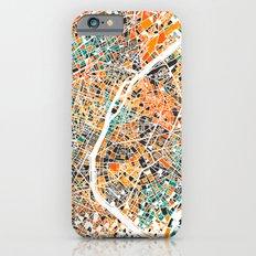Paris mosaic map #3 Slim Case iPhone 6