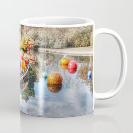 Floating Glass Coffee Mug
