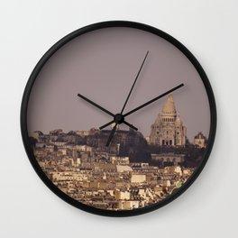 Sacré Coeur Wall Clock