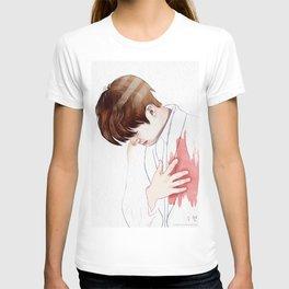heart is hurt T-shirt