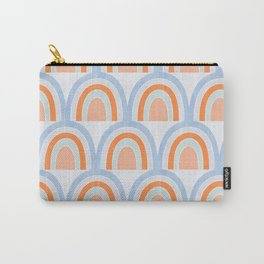 Fading rainbows - chambray Carry-All Pouch