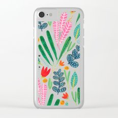 Summer time Clear iPhone Case