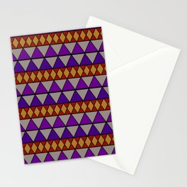 Tricky Triangles Stationery Cards