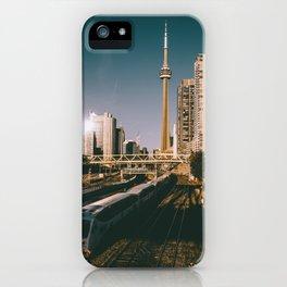 Toronto Tracks iPhone Case