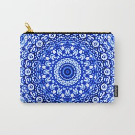 Blue Mandala Mehndi Style G403 Carry-All Pouch