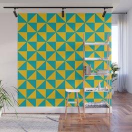 Colored Geomatric Wall Mural