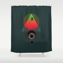 Swing-Wing Shower Curtain