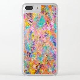 Abstract Art, Butterflies, Modern Art Clear iPhone Case