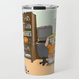 The Terrible Red Racer - Commodore 64 Travel Mug