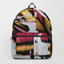 New and Old Door  Backpack