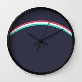 Italo Retro Rainbow Wall Clock
