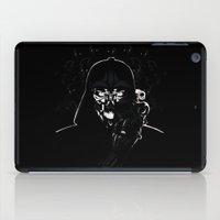 daenerys iPad Cases featuring Cyborg Face by kattie flynn