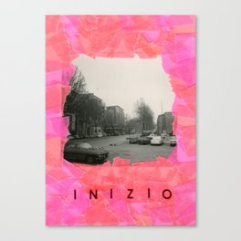 Inizio - Venecia Como Llegar Canvas Print