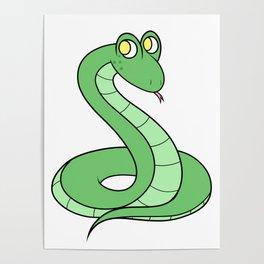 Sneeky Snek Poster