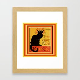 Tournee Du Chat Noir - After Steinlein Framed Art Print
