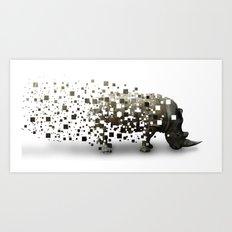 Disappearing Art Print