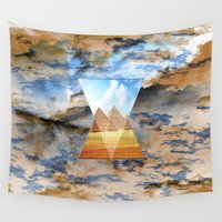 egypt Wall Tapestries featuring EGYPT by sametsevincer
