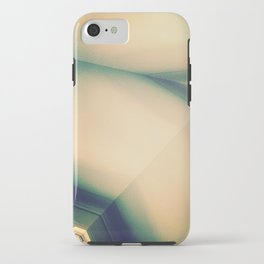 Abstractions in Cyan iPhone Case