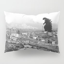 Old Time Godzilla Pillow Sham