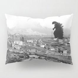 Old Time Gojira Pillow Sham