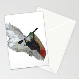 Kayak Decent Stationery Cards