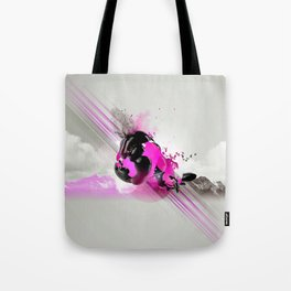 Sky Motion Tote Bag