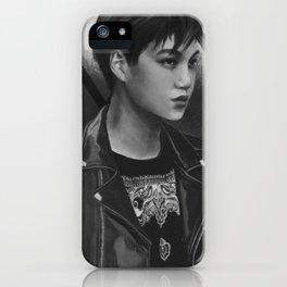 Kim Jongin iPhone Case