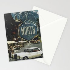 666 miles north Stationery Cards
