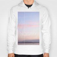 norway Hoodies featuring Norway by Hana Savana