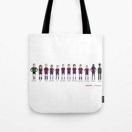 Barcelona - All-time squad Tote Bag