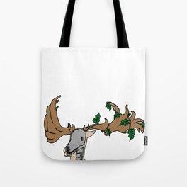 Irish Ivy Elk Tote Bag