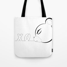 x_o bear Tote Bag