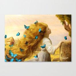 Unfurling Glory Canvas Print