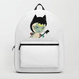 Halloween Devil Cat Backpack