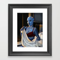 Mass Effect - Red Lingerie Framed Art Print