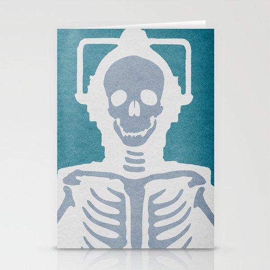 Cyberman Stationery Cards