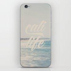 cali life ...  iPhone & iPod Skin