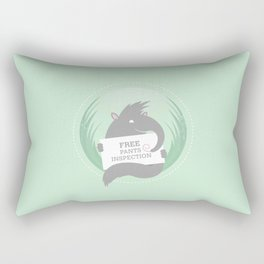 Entrepreneurial Anteater Rectangular Pillow