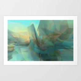 Crysallographer: Soft - 2014-10-16-14-17-3 Art Print