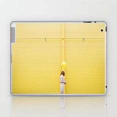 Yellow wall Laptop & iPad Skin