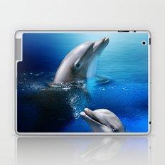 Dolphin Delight Laptop & iPad Skin