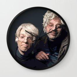 Gil Faizon and George St. Geegland Wall Clock