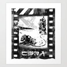 Fantastic Island Art Print