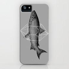Fish In Geometrics Slim Case iPhone (5, 5s)